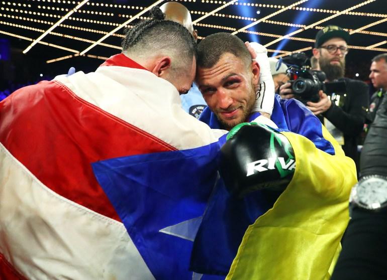 VASILIY_LOMACHENKO_vs_JOSE_PEDRAZA_sportsmanship