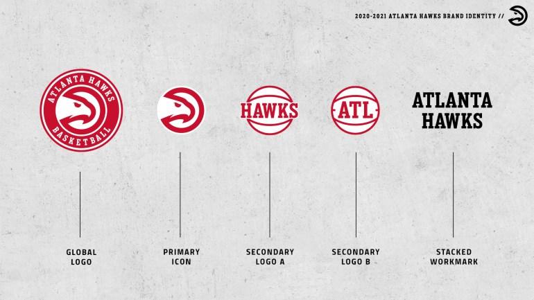 2021 ATL Hawks Brand Identity