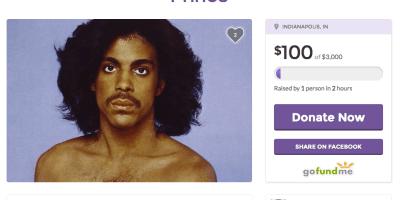 Prince GoFundMe