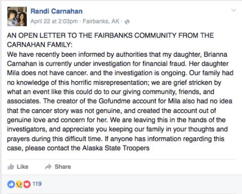 Randi Carnahan Facebook