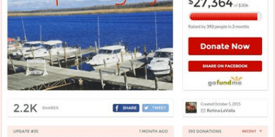Missing boaters gofundme