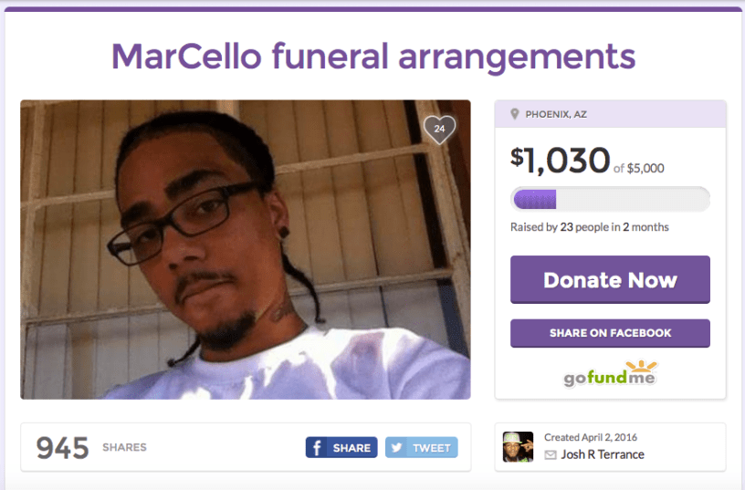Marcello Stallings Gofundme