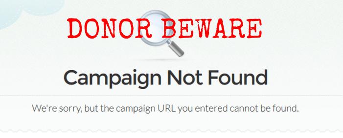 Gofundme scam