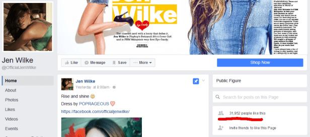 Jen Wilke Facebook