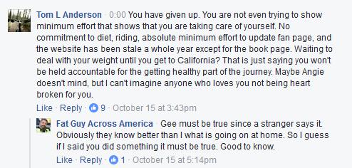 Fat Guy Across America Facebook
