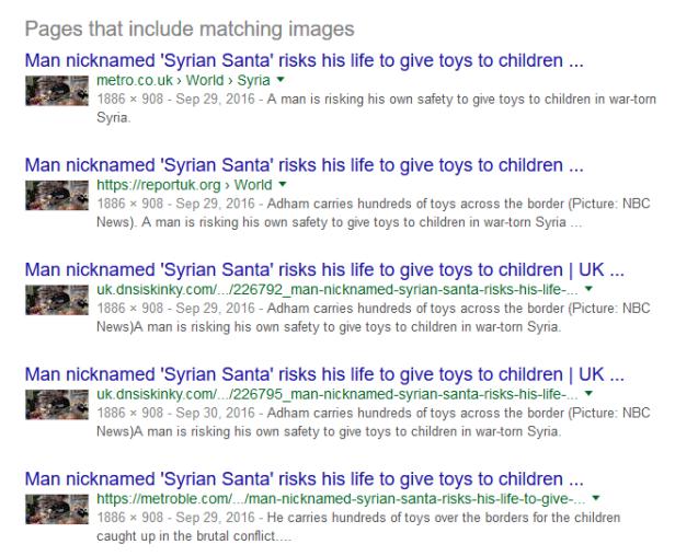 Syrian Santa