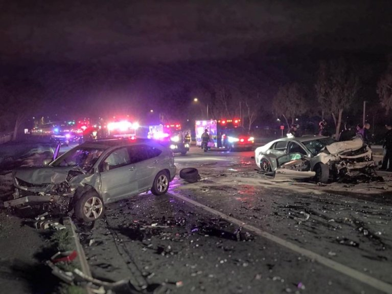 Christmas crash DUI San Jose