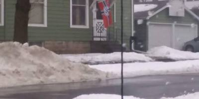 Nazi flag Oshkosh