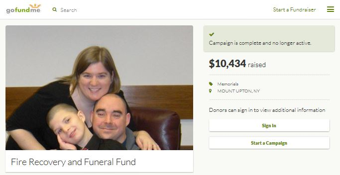 Ernest and Heather Franklin Gofundme
