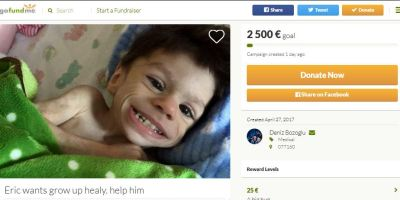 GoFundMe fraud sick kid
