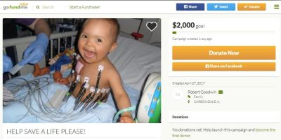 Fake cancer child GoFundMe