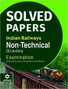 Solved Paper Railway Recruitment Boards RRB