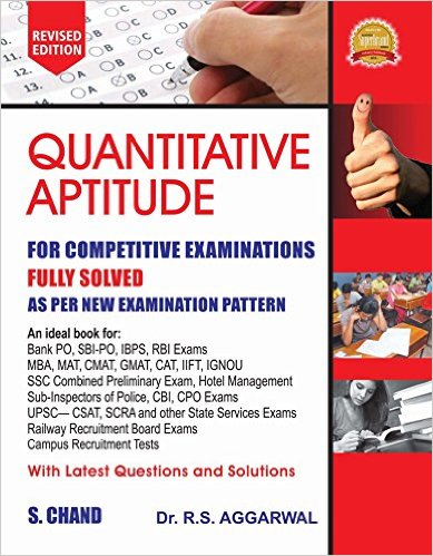 Quantitative Aptitude 2017 By R S Aggarwal