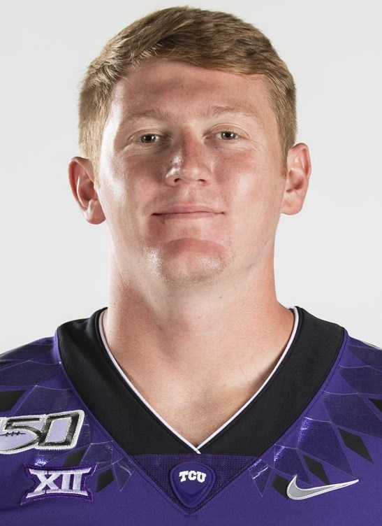 Texas Christian University Football #47 Carter Ware photographed at TCU in Fort Worth, Texas on July 24, 2019. (Photo/Sharon Ellman)    TCU Football Contact Mark Cohen m.cohen@tcu.edu