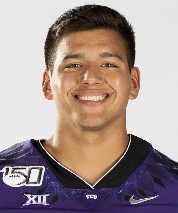 Texas Christian University Football #49 Antonio Ortiz photographed at TCU in Fort Worth, Texas on July 24, 2019. (Photo/Sharon Ellman)    TCU Football Contact Mark Cohen m.cohen@tcu.edu