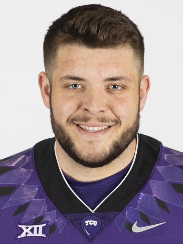 TCU Football T.J. Storment photographed in Fort Worth, Texas on February 13, 2020. (Photo/Sharon Ellman)