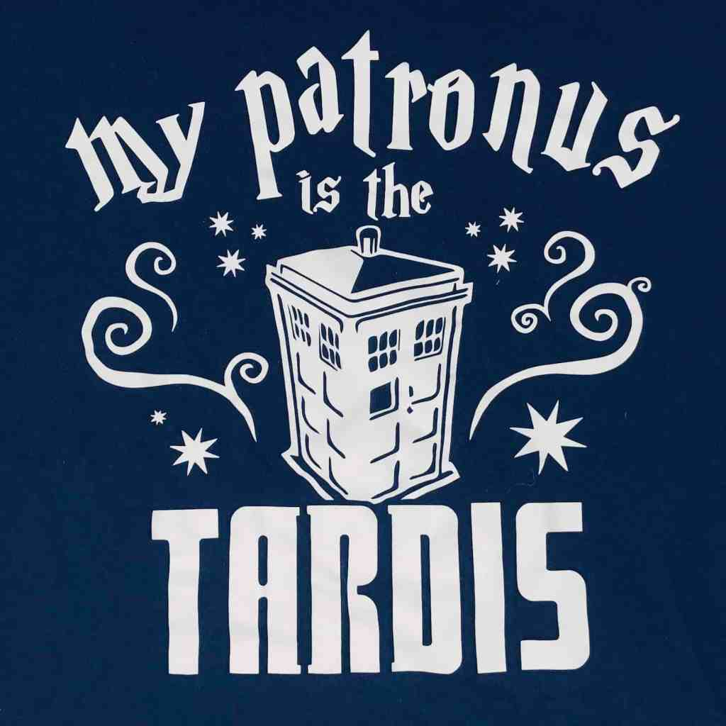 The perfect mashup of my 2 favorite universes...Doctor Who and Harry Potter.