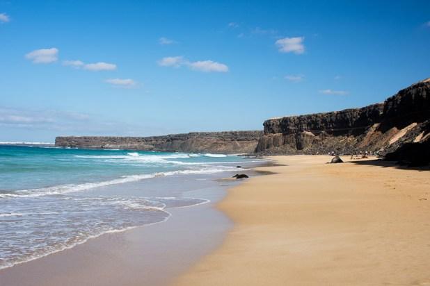 Playa del Águila, en La Oliva   Fuerteventura