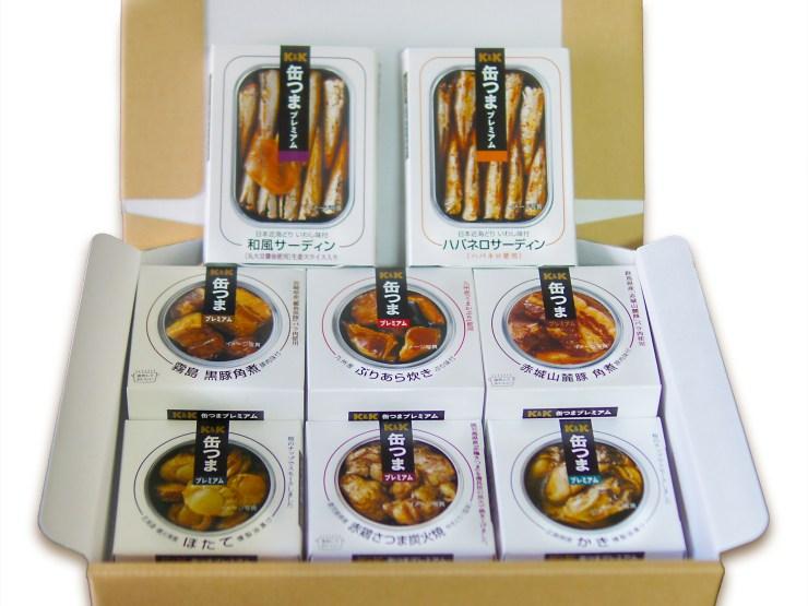 K&K 缶つまプレミアム  豪華8種詰め合わせ