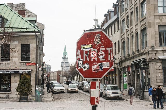 カナダで語学留学、ケベックはフランス語が公用語