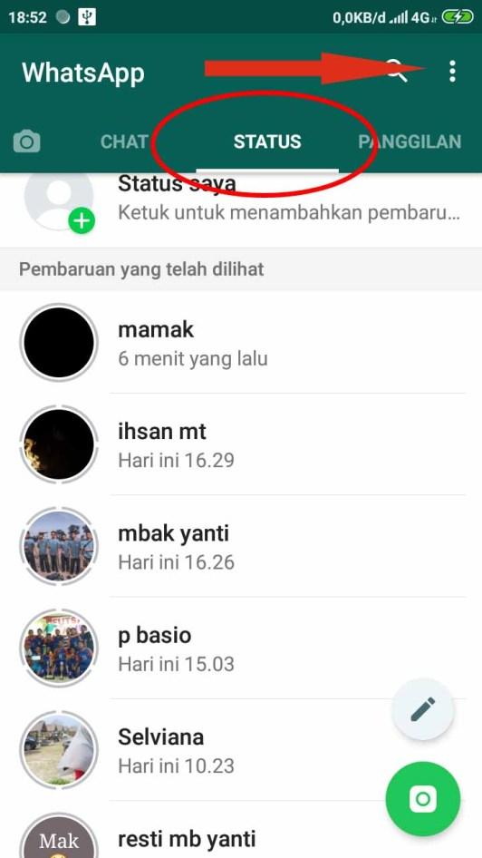 Cara Agar Orang Lain Tidak Bisa Melihat Status Whatsapp Kita1
