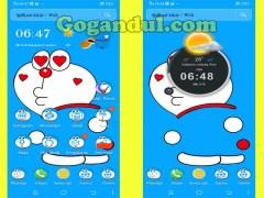 Aplikasi Tema Doraemon Lucu