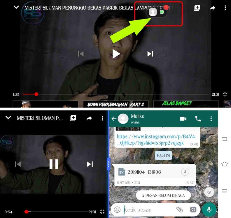 Cara membuat Notifikasi Melayang pada VIVO 3
