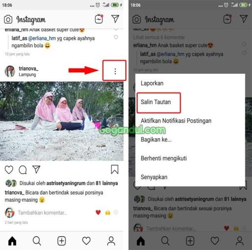 Cara Copy Paste Komentar Instagram Tanpa Aplikasi