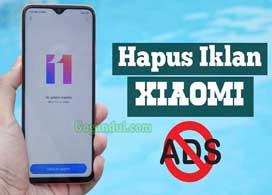 Cara Menghilangkan Iklan di Hp Xiaomi