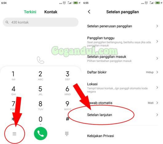 Cara,tutorial,xiaomi,private number,nomer pribadi,cara memprivat number,cara membuat nomer pribadi,cara menyembunyikan ID Pemanggil,private Number xiaomi