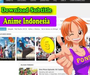 Tempat Download Subtitle Anime Indonesia