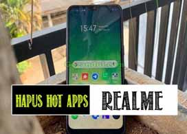 Cara Menghapus Hot Apps di Realme