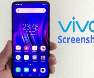 Cara Screenshot Vivo Y17
