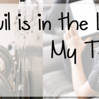 The Devil is in the Laundry: My Testimony