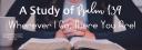 Psalm 139 Study