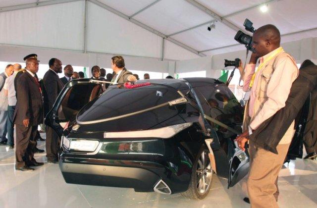 Gaddaffi Rocket Car