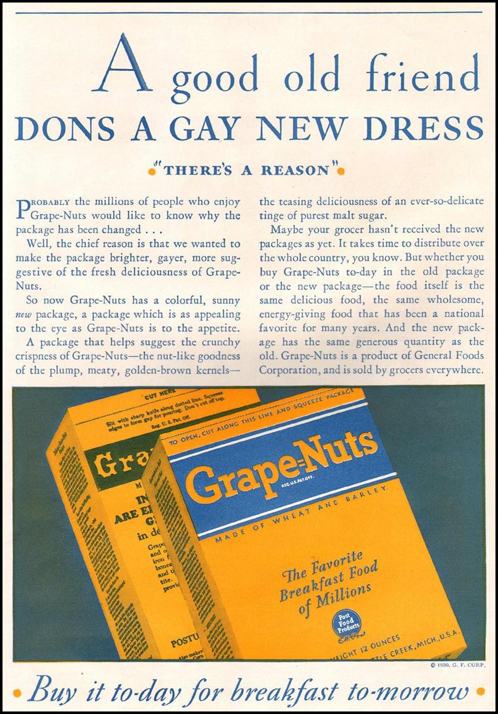 Post Grape Nuts