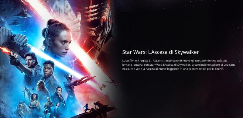 Star Wars ascesa di Skywalker