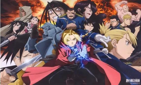 Migliori anime Netflix Full Metal Alchemist