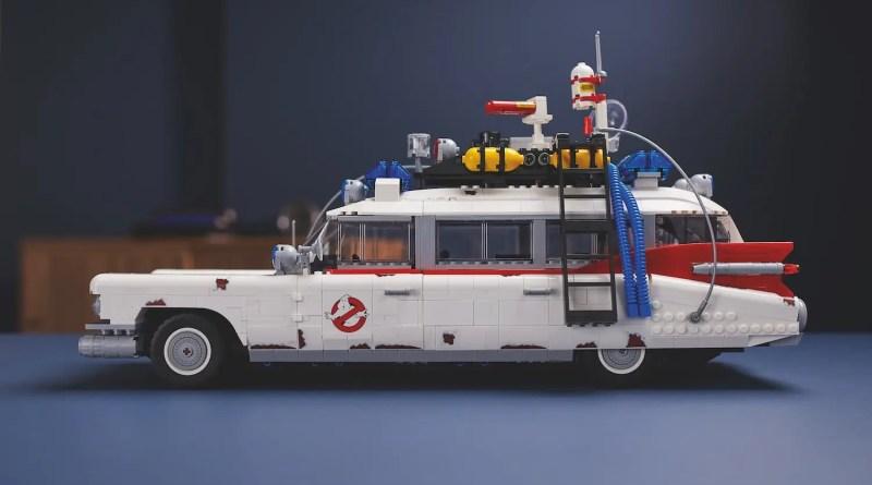 LEGO presenta la meravigliosa GHOSTBUSTERS ECTO-1