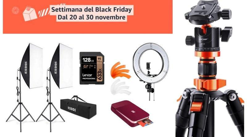 Black Friday di Amazon: le migliori offerte di fotografia
