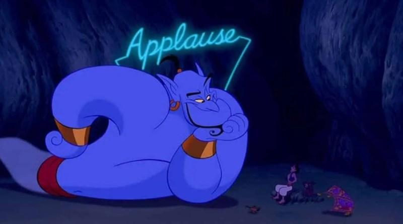 Aladdin genio - gigi proietti