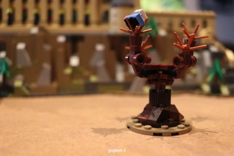 platano picchiatore castello Hogwarts LEGO