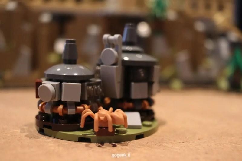 castello hogwarts lego capanna Hagrid