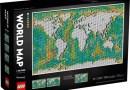 LEGO lancia il nuovo set con la mappa del mondo