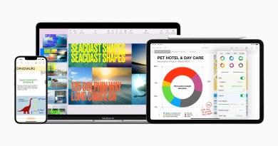 Nuove funzioni in Keynote, Pages e Numbers migliorano l'uso da dispositivi mobili