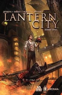 Lantern City #1 cover A main