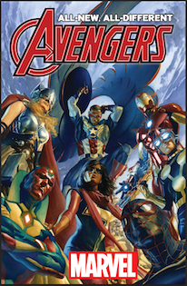 ALL-NEW ALL-DIFFERENT AVENGERS #1 cover art by Alex Ross