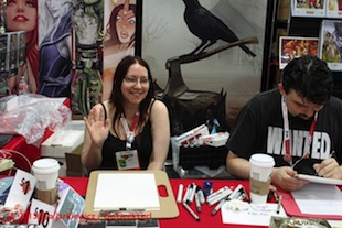 San Diego Comic-Con Thursday - Linda Sejic