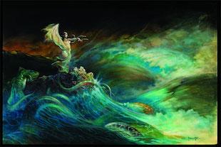 Frazetta - Sea Witch - Profiles in History